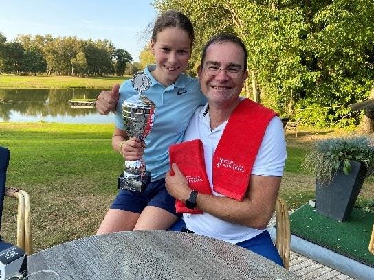 Ouder kind golfwedstrijd 2020 Golfclub Landgoed Nieuwkerk