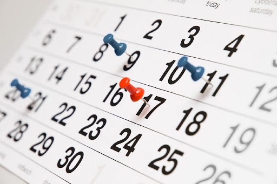 website wedstrijd kalender